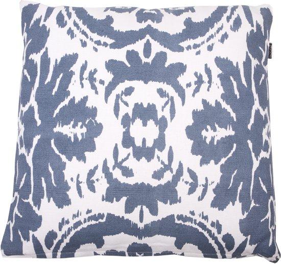 In The Mood Vintage Ikat - Sierkussen - 50x50 cm - Faded Blue