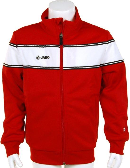 Jako Trainings Jacket Player Junior - Sportshirt - Kinderen - Maat 164 - Red;White
