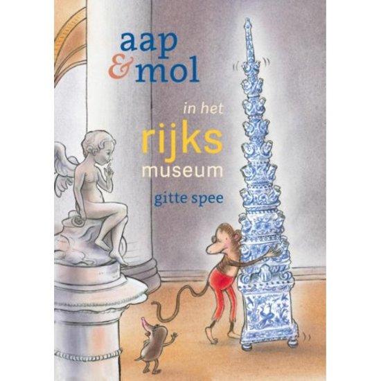 Boek cover Aap en Mol in het Rijksmuseum van Gitte Spee (Hardcover)