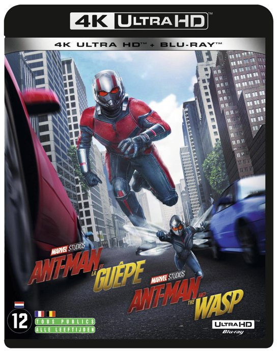 DVD cover van Ant-Man and the Wasp (4K Ultra HD Blu-ray)