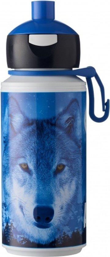 Rosti Mepal Animal Planet Pop-up Beker 275 Ml Wolf