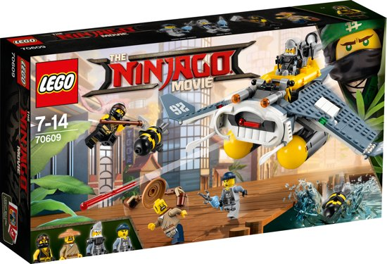 LEGO NINJAGO Movie Mantarog Bommenwerper - 70609