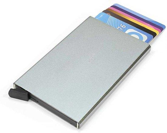 Figuretta RFID Creditcardhouder - 6 pasjes - Alluminium