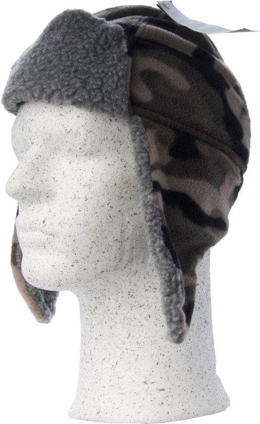 Gelert Boy s Pixel Fleece Trapper - Jongens Muts - Camo ec95ae9a9977