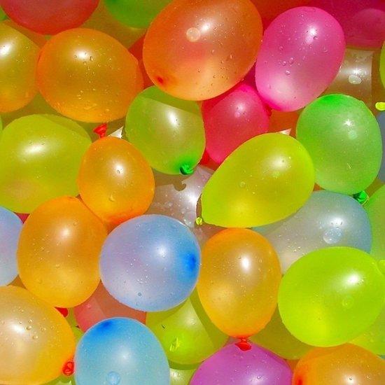 Waterballonnen/waterbommen gekleurd 750 stuks voor kinderen - zomer speelgoed