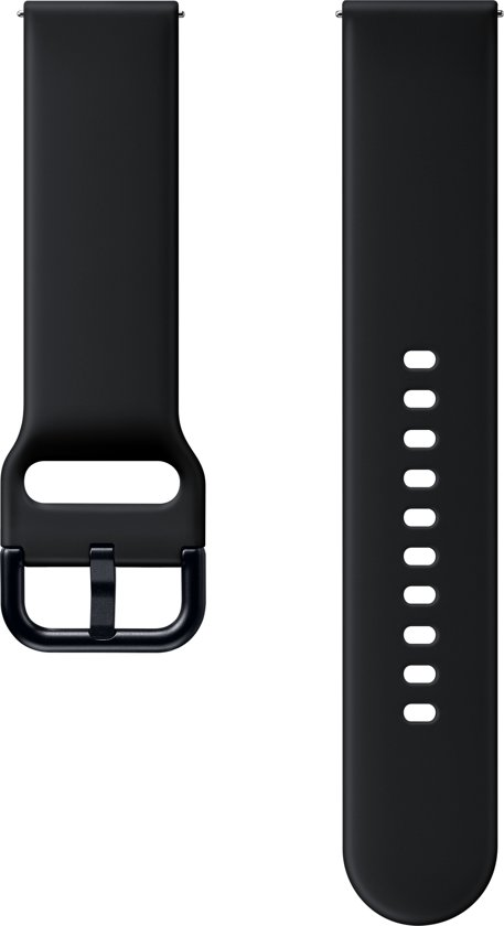 Samsung Sport Band ET-SFR82 (20 mm) - Horlogebandje - aquazwart - voor Galaxy Watch Active 2