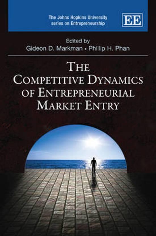 competitiveness of entrepreneurs