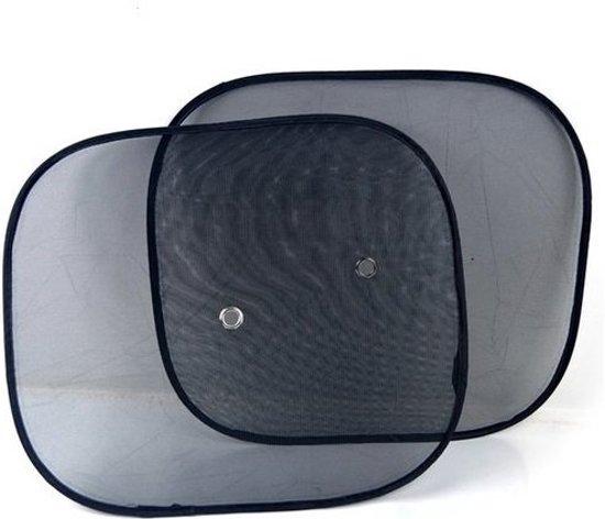 2 Stuks Zonneschermen Auto - Autozonwering - Auto Zonnescherm - Zonwering zijruit met UV protectie