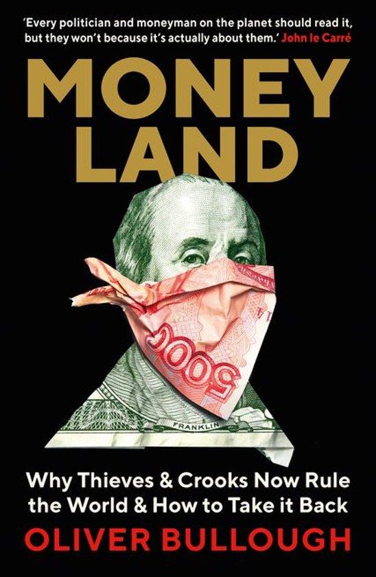 Boek cover Moneyland van Oliver Bullough (Onbekend)
