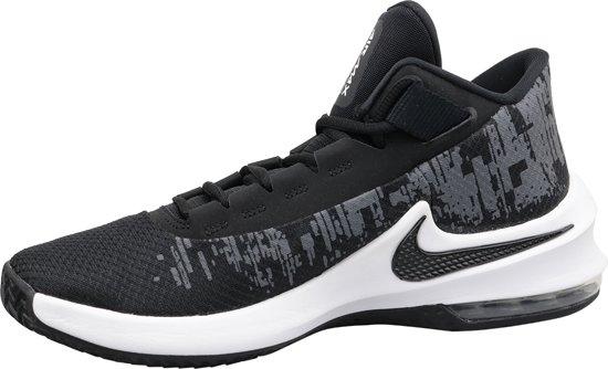 Nike Air Max Infuriate 2 Mid AA7066 001, Mannen, Zwart, Basketbalschoenen maat: 45.5 EU