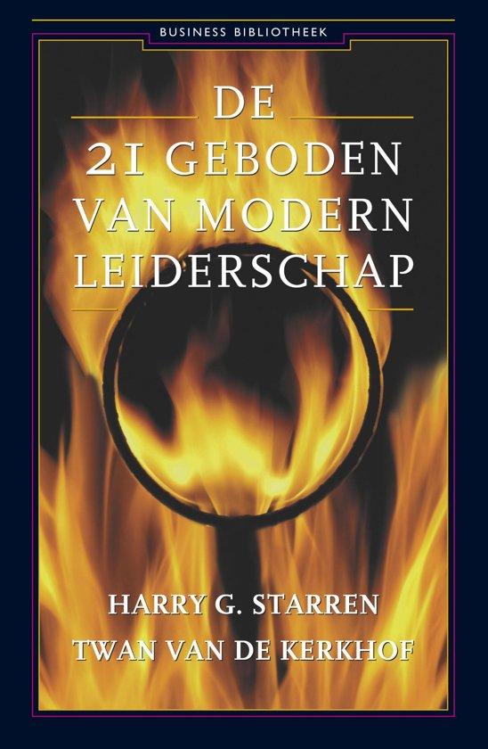 Business Bibliotheek De 21 geboden van modern leiderschap