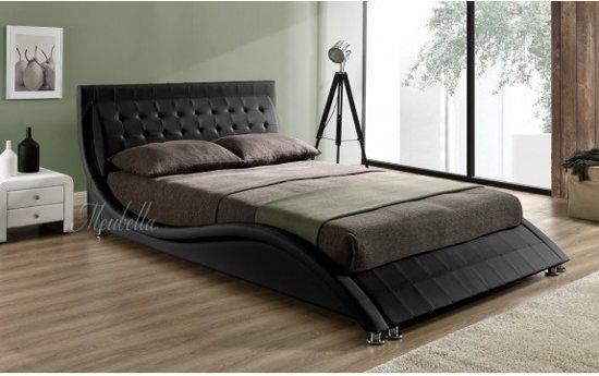 Tweepersoonsbed Beter Bed.Bol Com Tweepersoonsbed Sumoya Zwart 140x200 Cm