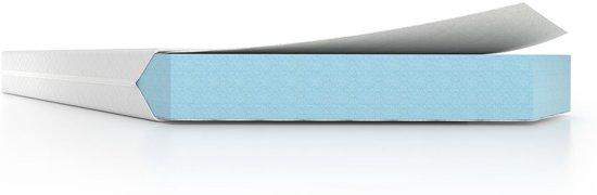 PerfectRookie© matras 15cm Dik - Betaalbaar Kwaliteitsmatras - 90x190cm - SkyCell Schuim SG25