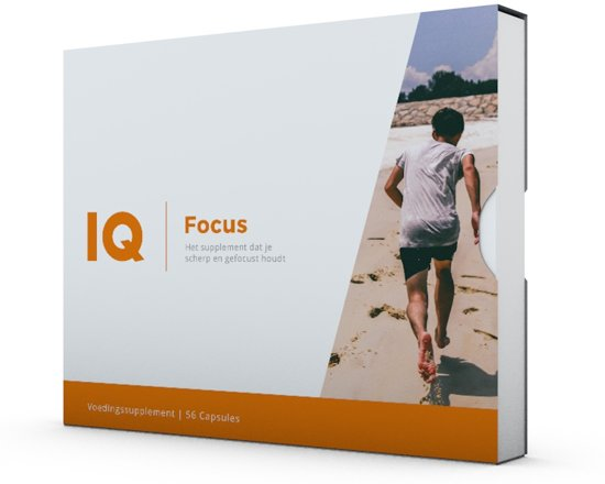 IQ Focus - 56 capsules - Voedingssupplement