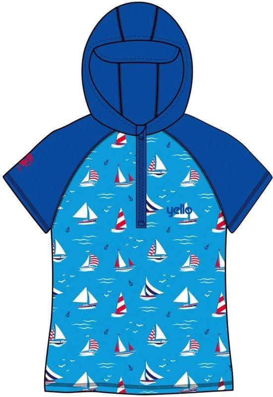 Yello Uv-werende Hoodie Sailboat Junior Blauw 4-5 Jaar