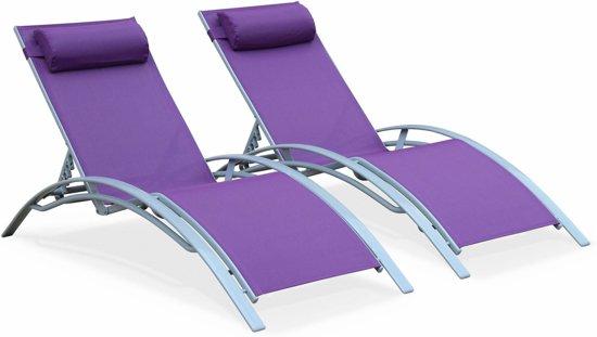 Ligstoel Tuin Aluminium : Bol.com ligstoelen in aluminium en textileen.