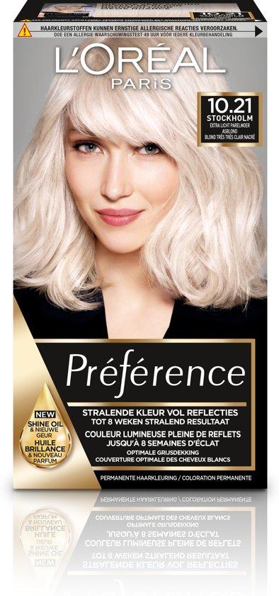 L'Oréal Paris Préférence Haarverf - 10.21 Extra Licht - Color Extender
