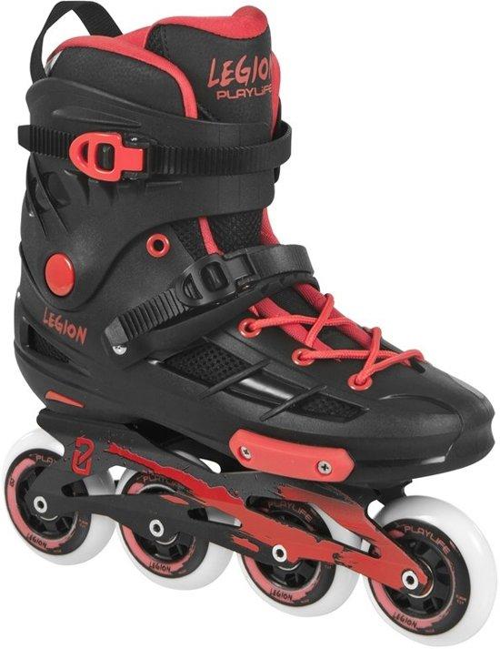 Playlife Inline Skates Legion Zwart/rood Maat 39