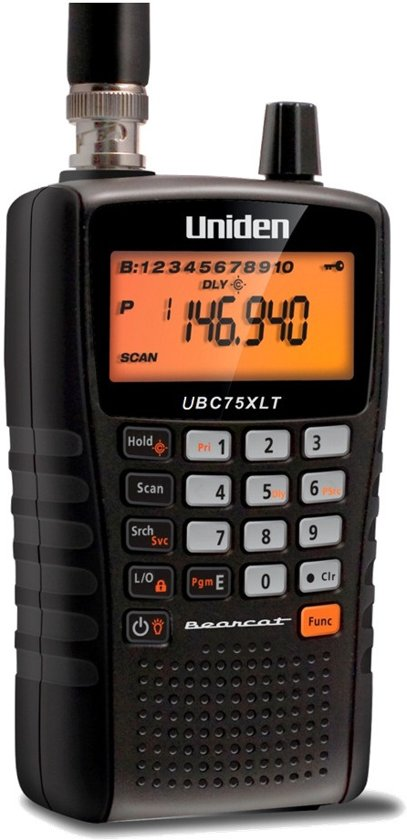 Uniden Bearcat UBC-75XLT Scanner