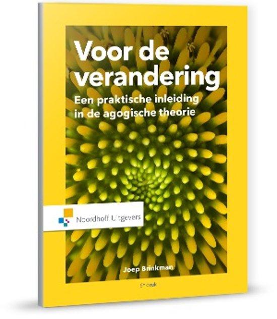 Bolcom Voor De Verandering 9789001875756 Joep Brinkman Boeken