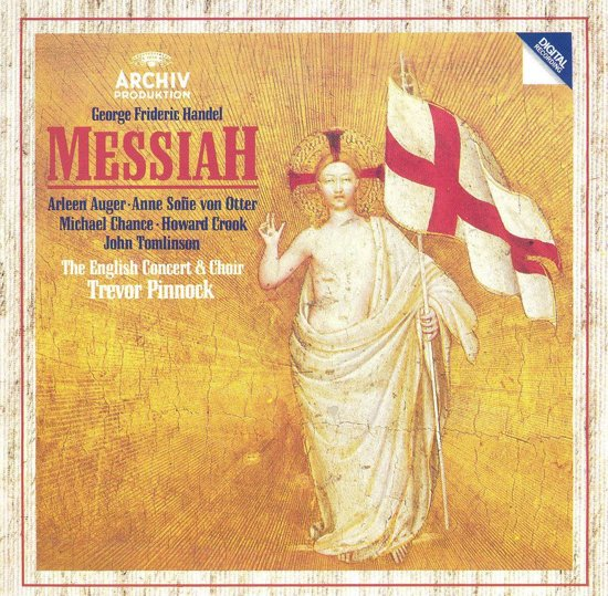 Handel: Messiah / Pinnock, Auger, von Otter, Chance, Crook et al