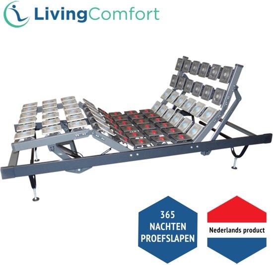 LivingComfort Schotelbodem - 80 x 210 cm - Elektrisch verstelbaar