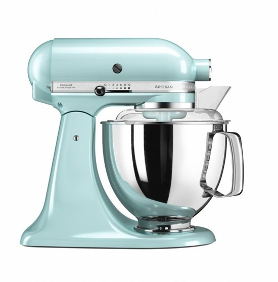 KitchenAid Artisan 5KSM175PSEIC - Keukenmachine - IJsblauw