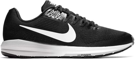 Nike Air Zoom Structure 21 Hardloopschoenen - Schoenen  - zwart - 44.5