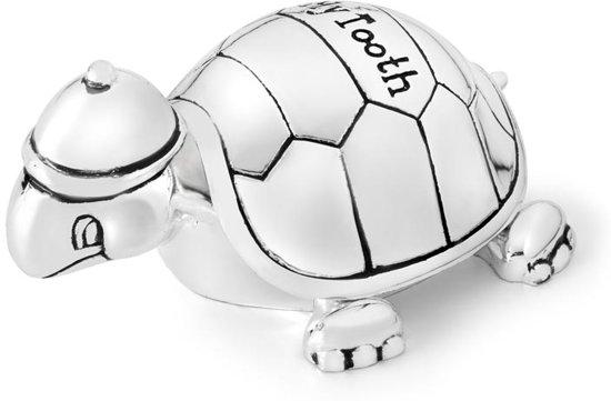 Zilverstad Tanden- en Haarlokdoosje Schildpad
