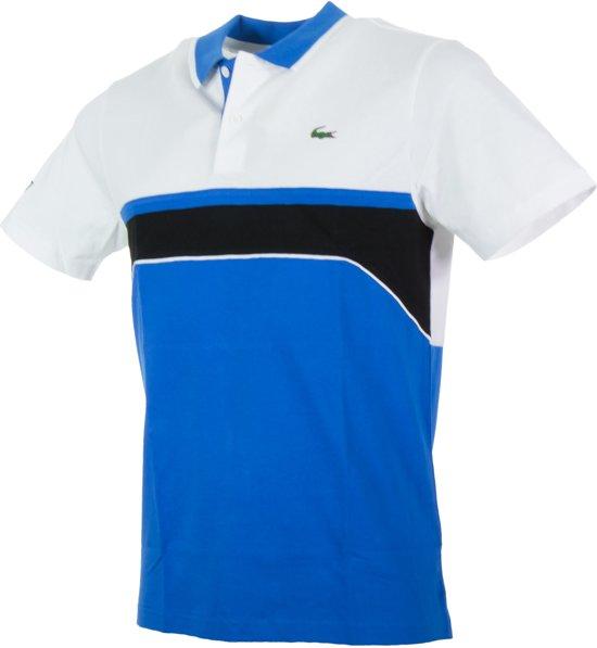 1eeb9726991 bol.com   Lacoste Sport Color Block Polo Heren Sportpolo - Maat S ...