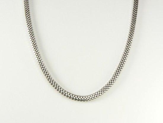 zilvere ketting