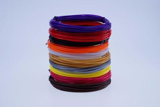 3D pen filament pakket XL 20 kleuren PLA