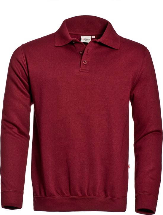 Santino Robin Polosweater Zwart 4XL