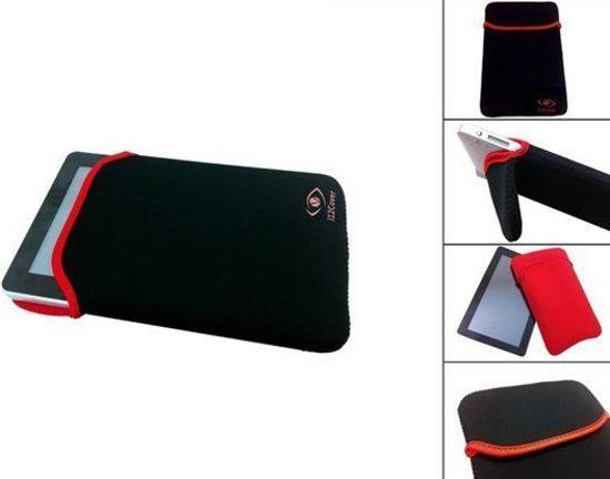 Neoprene Sleeve, Beschermhoes voor uw Asus Eee Pad Memo 370t, Zwart, merk i12Cover