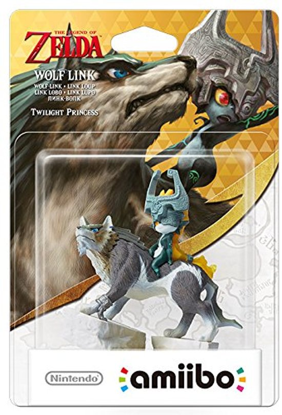 Cover van de game Nintendo amiibo Wolf Link - 3DS - Wii U - Switch