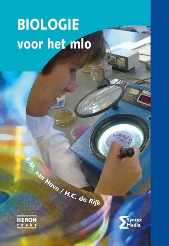 Boek cover Biologie voor het MLO van E.M. van Hove (Paperback)
