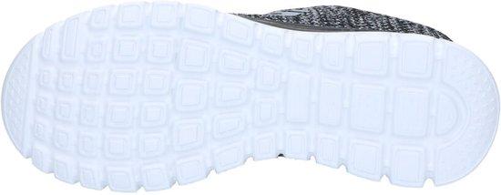 Dames Skechers wit Sneakers Maat Fortune Graceful 41 Zwart twisted 0gpqB0xwr