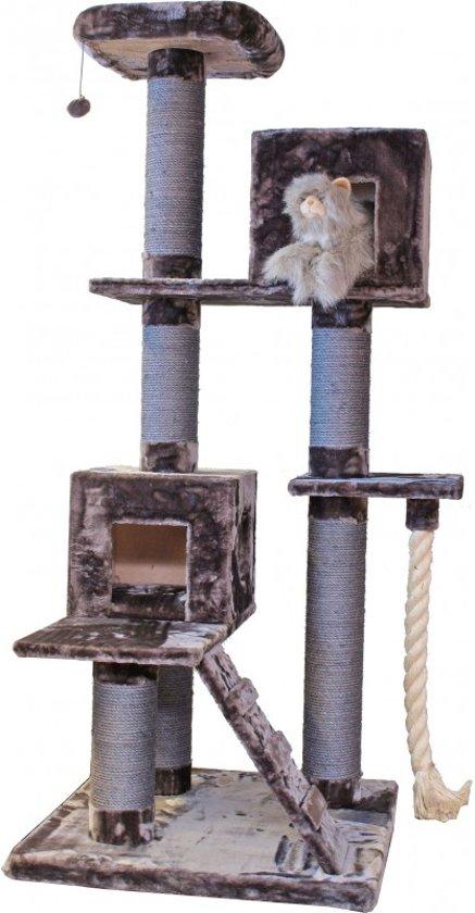 Boon Xxl Jura Krabpaal - Aubergine - 80 x 80 x 202 cm