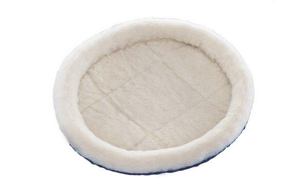 Nobby lambskin bedje knaagdier extra zacht wit 30 x 26 cm - 1 st