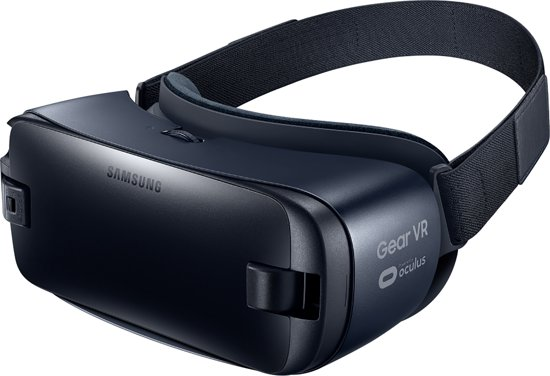 Blauwe Gear VR-bril