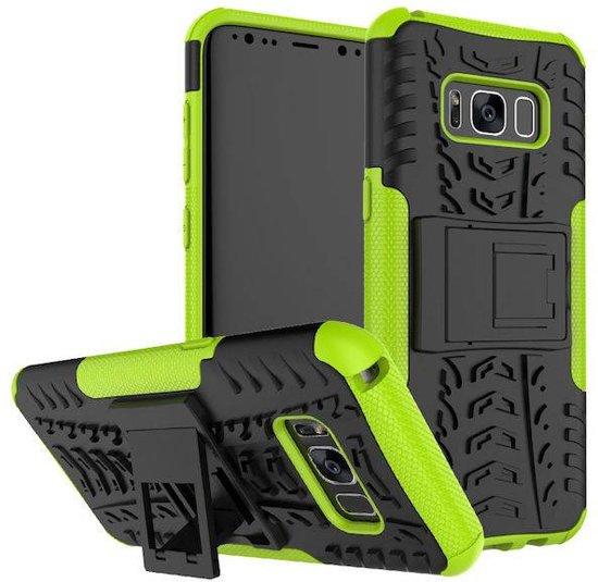Samsung Galaxy S8 Schokbestendige Back Cover Groen