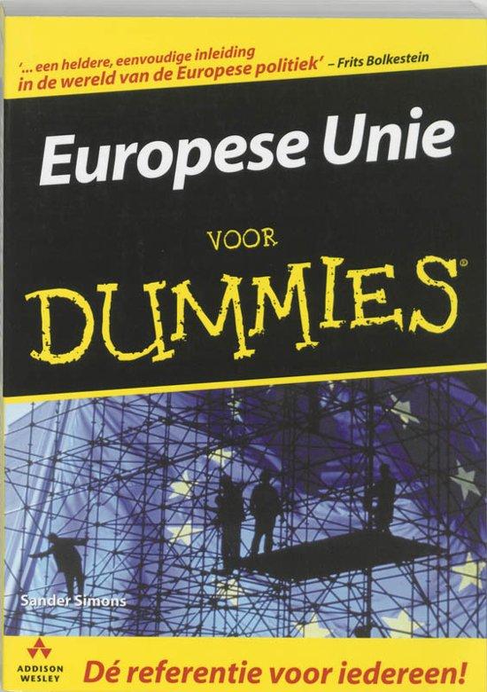 Voor Dummies - Europese Unie voor Dummies
