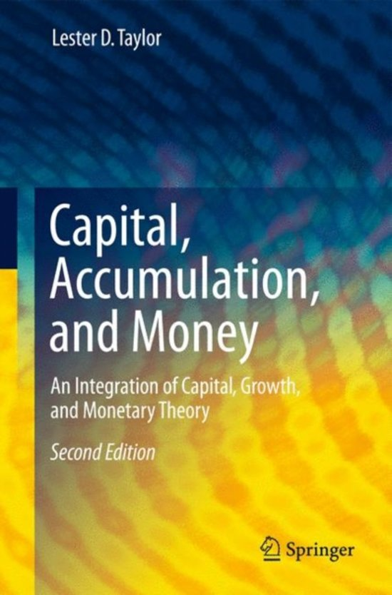 an overview of the capitalist growth theory by capital accumulation and economic growth