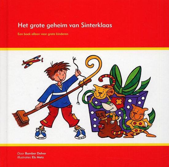 Boek cover Het Grote Geheim Van Sinterklaas van Bamber Delver