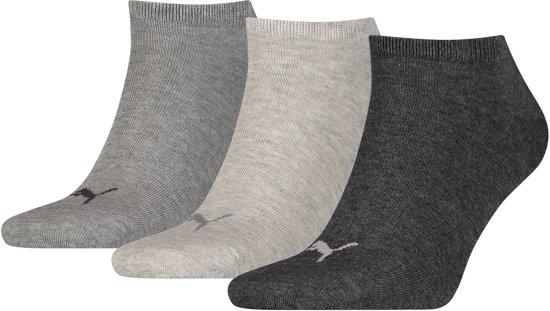Sneaker Unisexe Pumas Plaine 3p Sneakersocken, Gris, 39-42
