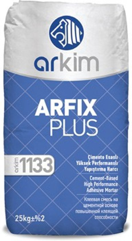 Bol Com Arkim Arfix Plus 1133 1144 Flexibele Tegellijm