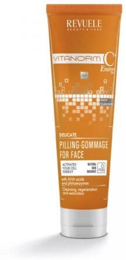 REVUELE® VITANORM C+Energy Delicate Gezicht Peeling 80ml.