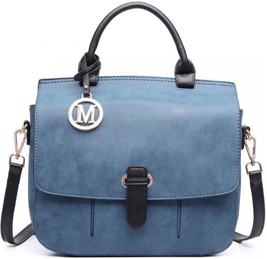 MISS LULU MEDIUM MESSENGER BAG (LM1670 BE)