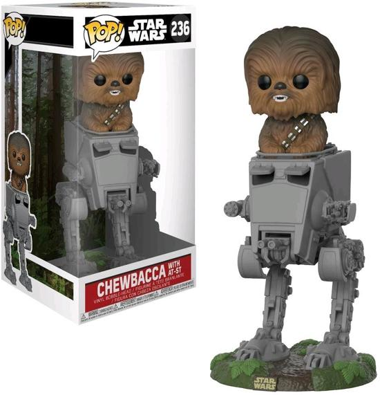 Funko Pop! Star Wars: The Last Jedi Chewbacca In At-St - Verzamelfiguur
