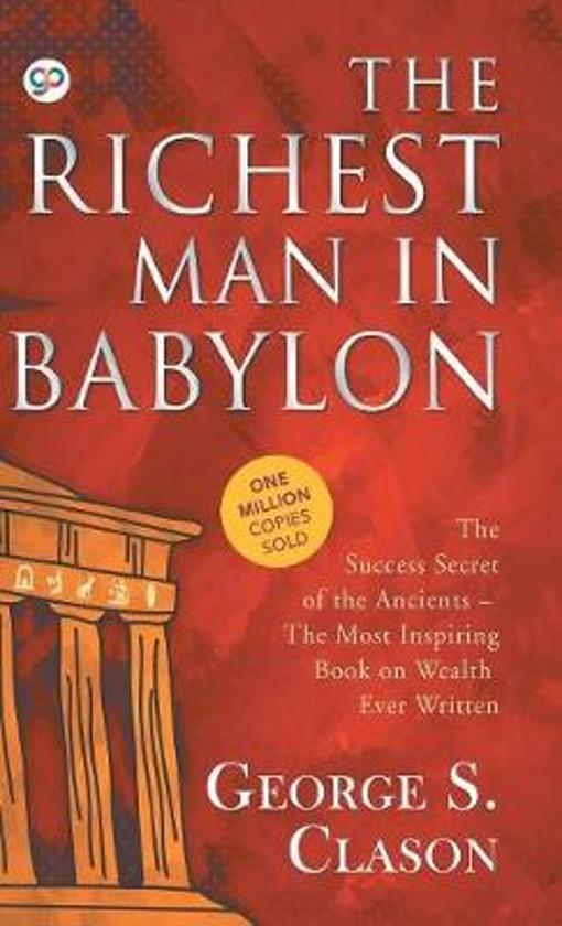 Boek cover The Richest Man in Babylon van George S. Clason (Hardcover)